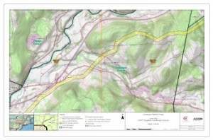 Ferc Topo Maps Showing Constitution Pipeline Proposed Route