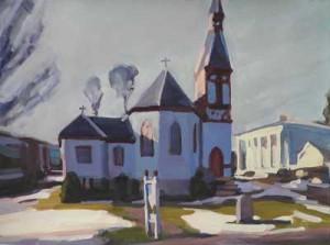 St. Paul's Episcopal Church, Franklin NY, by Beth Firmin