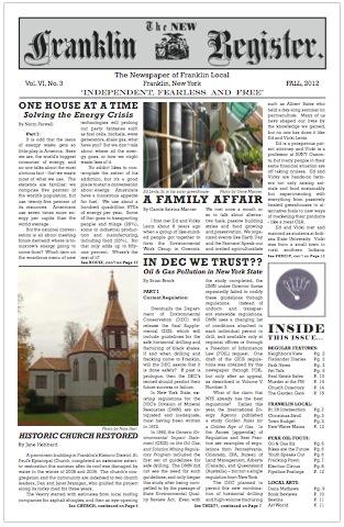 New Franklin Register #18 image