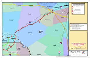 Constitution Pipeline Maps – Revised January 11, 2013