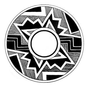 Mimbre pottery design