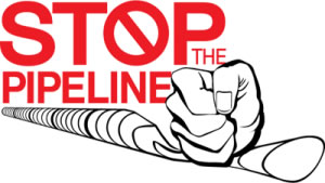 Stop the Pipeline logo