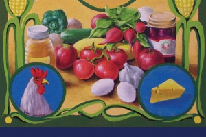 2010 Franklin Farmers' Market Poster by Doug Jamieson