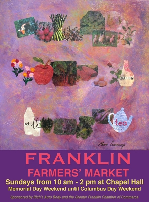 2011 Franklin Famers' Market Poster by Marie Cummings