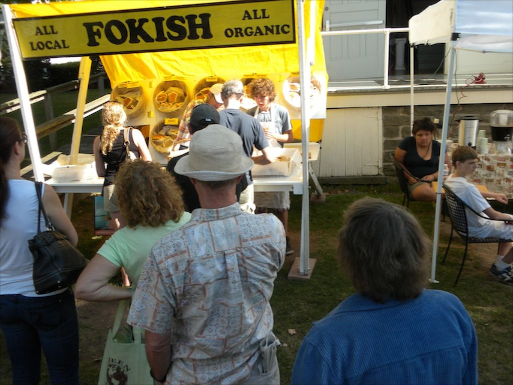Fokish Breads at the Franklin Farmers' Market