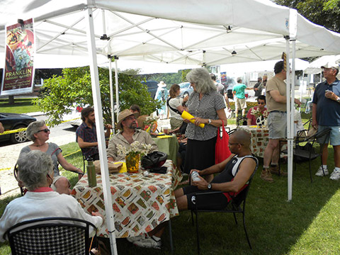 Franklin Farmers' Market Hospitality Tent photo