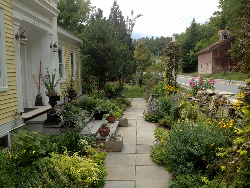 photo of Steve Whitesell's front garden