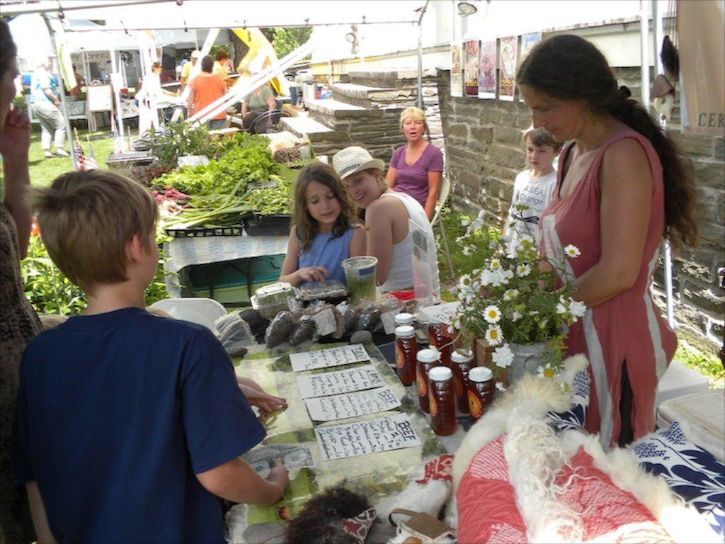 Nectar Hill Farm at the Franklin Farmers' Market