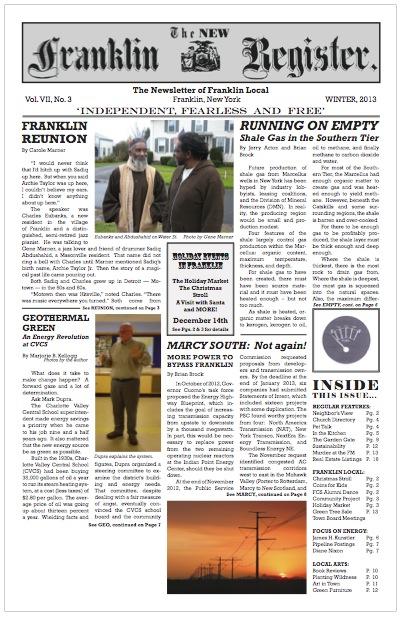 New Franklin Register #21