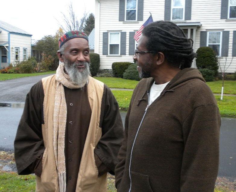 Eubanks and Abdushahid on Water Street