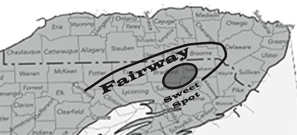 "The ""sweet spot,"" where the counties of Susquehanna, Bradford, and Wyoming meet"