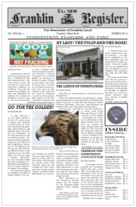 NFR #22 New Franklin Register - PDF