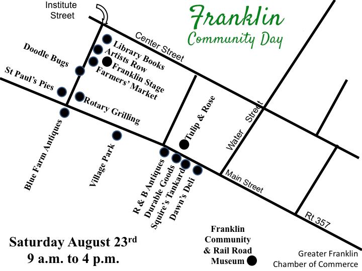 Franklin Community Day Map