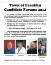 2014 Franklin Town Council Forums
