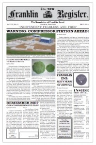 New Franklin Register #24