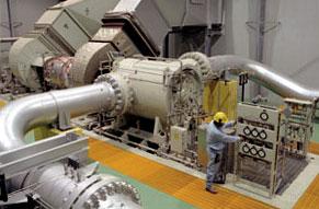 photo of solar turbine