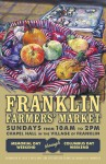 Franklin Farmers' Market 9th Season