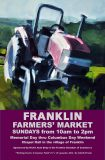 2016 Franklin Farmers' Market poster - artwork by Lisbeth Firmin