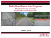 Delta Road Protection Program