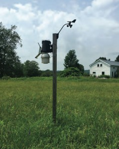 weather station in Franklin, NY