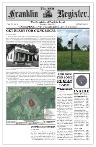 New Franklin Register #26, Summer 2015