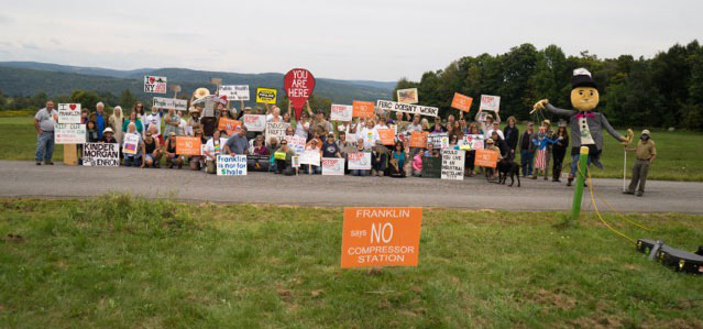 Compressor Free Franklin rally on the Otego Road, Photo by Tony Breuer
