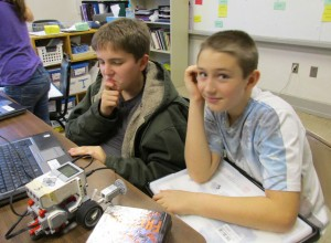 Robo-Boys Isaiah Smith and Robert Menyhardt, photo for NFR28