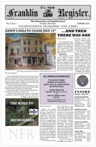 New Franklin Register #29 (PDF 13MB)