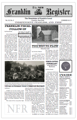 New Franklin Register #32