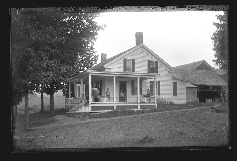 Arthur Austin, Franklin NY Residence