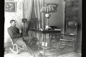 Arthur Austin, Self Portrait