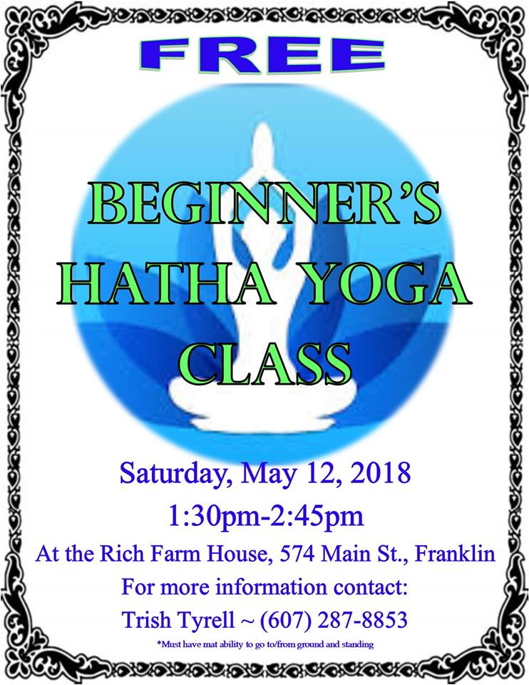 Beginner's Hatha Yoga Class in Franklin NY