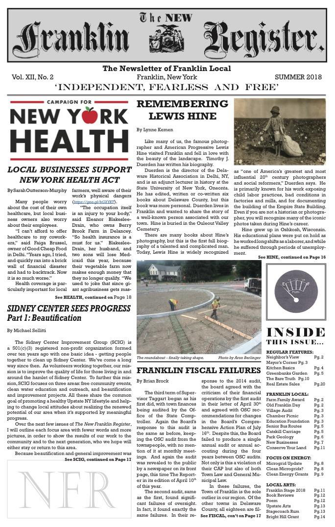 New Franklin Register #35