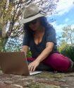 Shana Ko at work