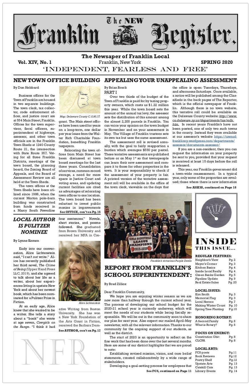 New Franklin Register #39